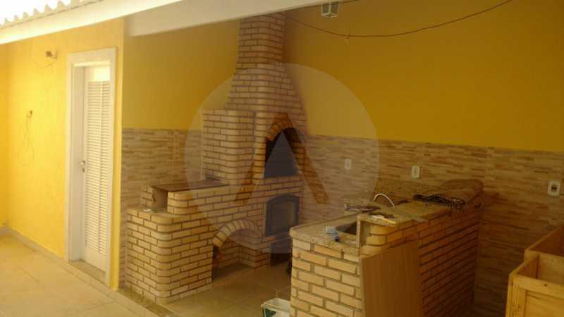28 - Casa Duplex Itaipu - Imobiliária Agatê Imóveis vende Casa em Condomínio de 168 m² Itaipu - Niterói por 830 mil reais. - HTCN40042 - 29
