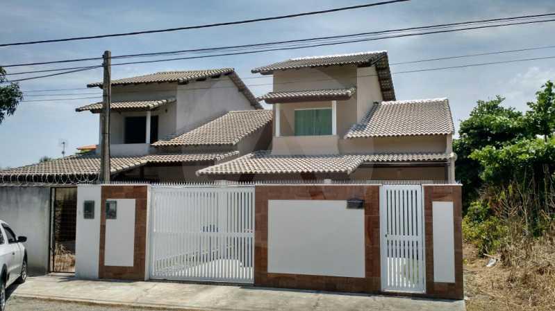 1 Casa 3 suítes Itaipu Niter? - Imobiliária Agatê Imóveis vende Casa Duplex -² Itaipu - Niterói. - HTCA30148 - 1