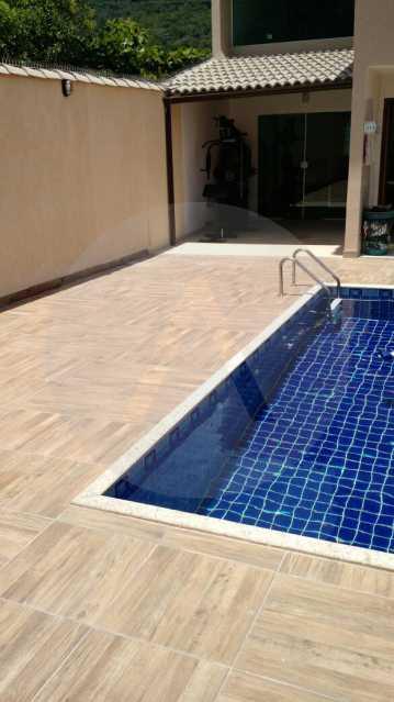 8 Casa 3 suítes Itaipu Niter? - Imobiliária Agatê Imóveis vende Casa Duplex -² Itaipu - Niterói. - HTCA30148 - 9