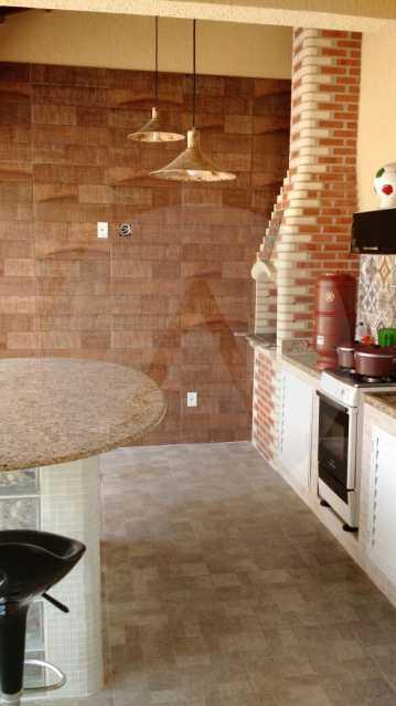 16 Casa 3 suítes Itaipu Niter - Imobiliária Agatê Imóveis vende Casa Duplex -² Itaipu - Niterói. - HTCA30148 - 17