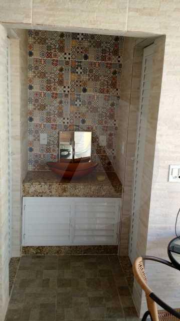 21 Casa 3 suítes Itaipu Niter - Imobiliária Agatê Imóveis vende Casa Duplex -² Itaipu - Niterói. - HTCA30148 - 22