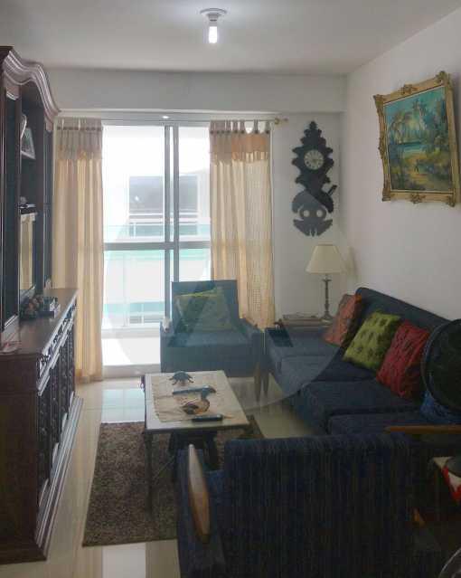 3 - Apartamento Padrão Pirat - Imobiliária Agatê Imóveis vende Apartamento de 125 m² Piratininga - Niterói por 700 mil reais. - HTAP20008 - 4