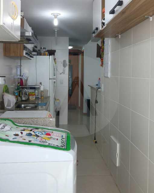 6 - Apartamento Padrão Pirat - Imobiliária Agatê Imóveis vende Apartamento de 125 m² Piratininga - Niterói por 700 mil reais. - HTAP20008 - 7