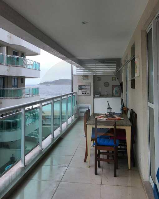 8 - Apartamento Padrão Pirat - Imobiliária Agatê Imóveis vende Apartamento de 125 m² Piratininga - Niterói por 700 mil reais. - HTAP20008 - 9