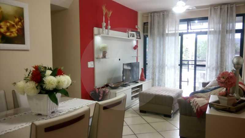 1 Apartamento 2 qtos Itaipu - Imobiliária Agatê Imóveis vende Apartamento de 90 m² Itaipu - Niterói por 400 mil reais - HTAP20009 - 1