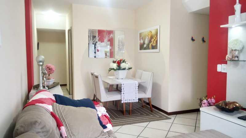 3 Apartamento 2 qtos Itaipu - Imobiliária Agatê Imóveis vende Apartamento de 90 m² Itaipu - Niterói por 400 mil reais - HTAP20009 - 4