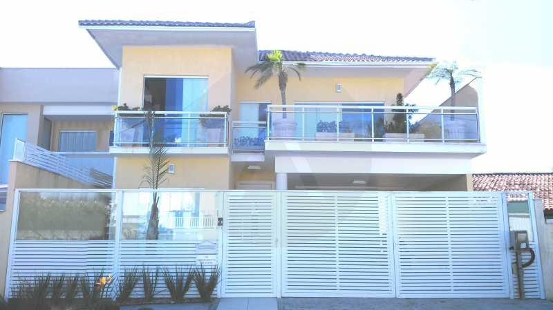 1 Casa Camboinhas - Imobiliária Agatê Imóveis vende Casa de 221 m² Camboinhas - Niterói por 1.800.000,00 mil reais. - HTCA50017 - 1