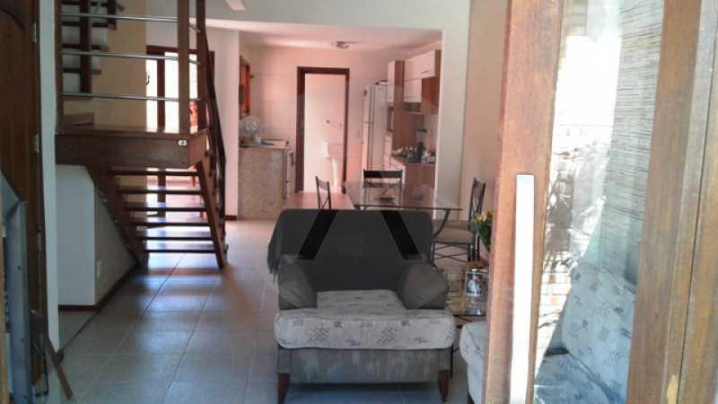 4 - Imobiliária Agatê Imóveis vende Casa Duplex de 150 m² Itaipu - Niterói por 550 mil reais - HTCA30161 - 5