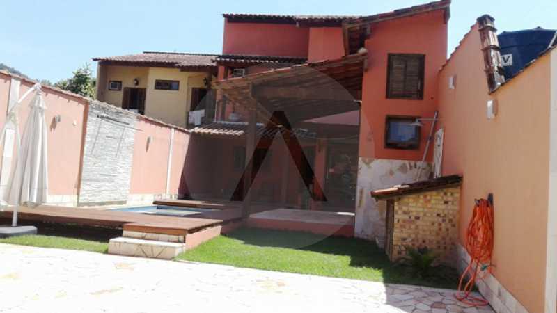 20 - Imobiliária Agatê Imóveis vende Casa Duplex de 150 m² Itaipu - Niterói por 550 mil reais - HTCA30161 - 11
