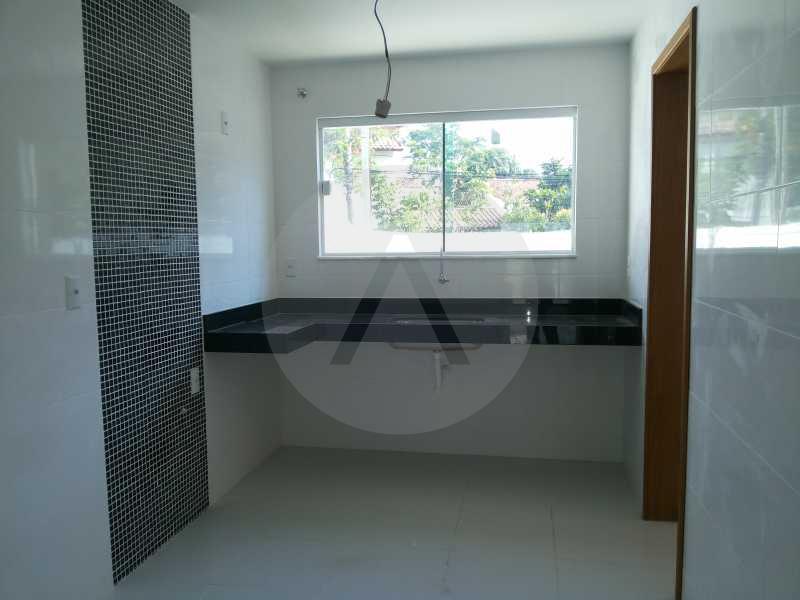 5 Casa Duplex Piratininga - Imobiliária Agatê Imóveis vende Casa Duplex de 210m² Piratininga - Niterói por 750 mil reais - HTCA30020 - 7