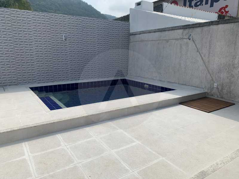 15 Casa Duplex Piratininga. - Imobiliária Agatê Imóveis vende Casa Duplex de 210m² Piratininga - Niterói por 750 mil reais - HTCA30020 - 18