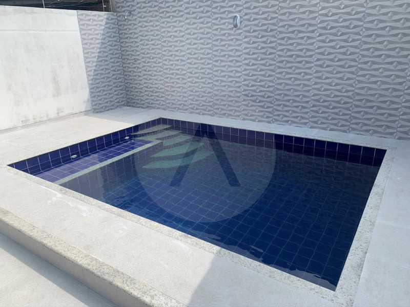 16 Casa Duplex Piratininga. - Imobiliária Agatê Imóveis vende Casa Duplex de 210m² Piratininga - Niterói por 750 mil reais - HTCA30020 - 19