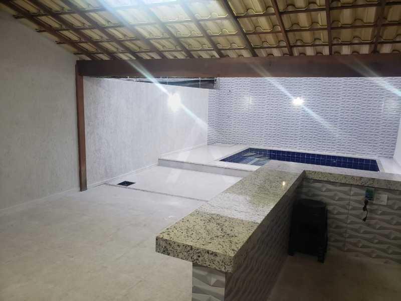 casa fazendinha 02 - Imobiliária Agatê Imóveis vende Casa Duplex de 210m² Piratininga - Niterói por 750 mil reais - HTCA30020 - 21