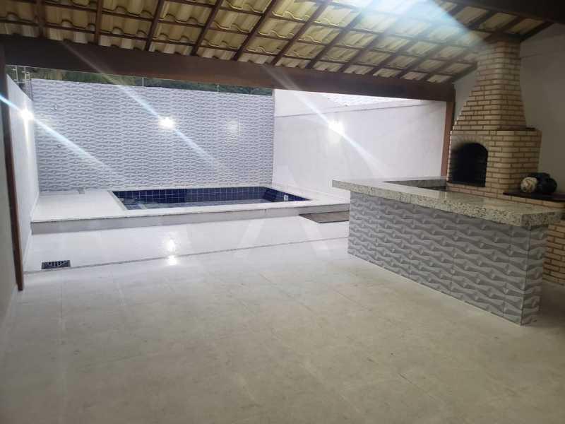 casa fazendinha 03 - Imobiliária Agatê Imóveis vende Casa Duplex de 210m² Piratininga - Niterói por 750 mil reais - HTCA30020 - 1