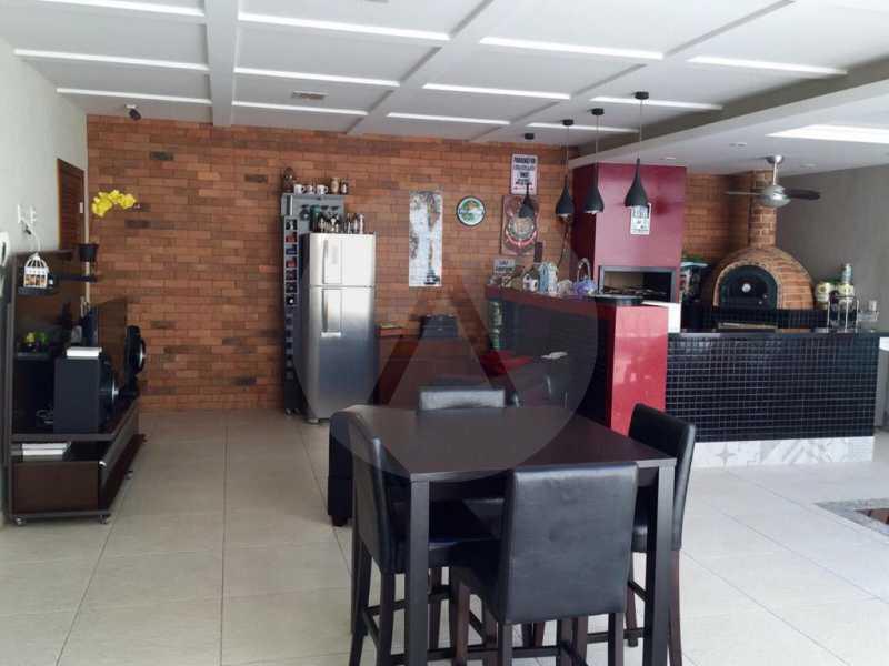 5 Casa Duplex Camboinhas. - Imobiliária Agatê Imóveis vende Casa em Condomínio de 697m² Itaipu - Niterói por 4.520 mil reais. - HTCN50007 - 6