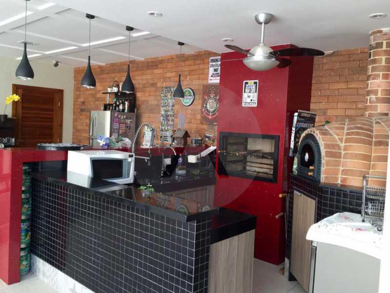 6 Casa Duplex Camboinhas. - Imobiliária Agatê Imóveis vende Casa em Condomínio de 697m² Itaipu - Niterói por 4.520 mil reais. - HTCN50007 - 7