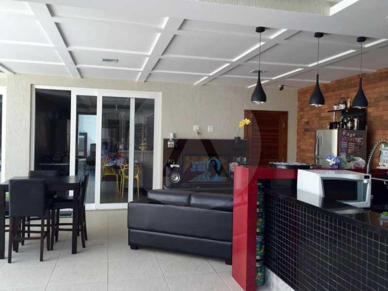 8 Casa Duplex Camboinhas. - Imobiliária Agatê Imóveis vende Casa em Condomínio de 697m² Itaipu - Niterói por 4.520 mil reais. - HTCN50007 - 9