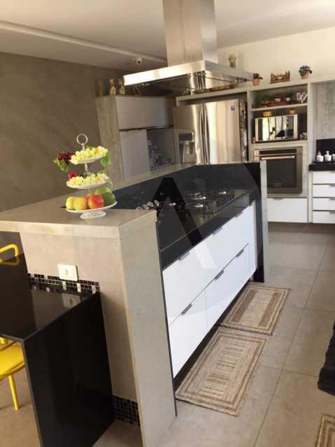9 Casa Duplex Camboinhas. - Imobiliária Agatê Imóveis vende Casa em Condomínio de 697m² Itaipu - Niterói por 4.520 mil reais. - HTCN50007 - 10
