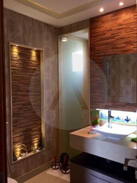 14 Casa Duplex Camboinhas. - Imobiliária Agatê Imóveis vende Casa em Condomínio de 697m² Itaipu - Niterói por 4.520 mil reais. - HTCN50007 - 15