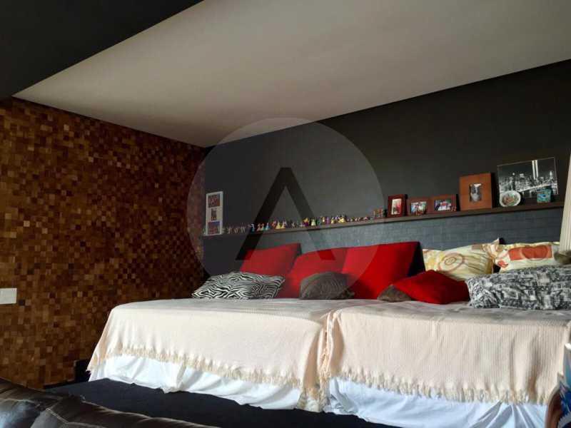18 Casa Duplex Camboinhas. - Imobiliária Agatê Imóveis vende Casa em Condomínio de 697m² Itaipu - Niterói por 4.520 mil reais. - HTCN50007 - 19