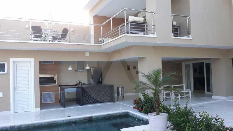 2 - Imobiliária Agatê Imóveis vende Casa Duplex de 450 m² Camboinhas - Niterói por 4.300 mil reais. - HTCA40071 - 3