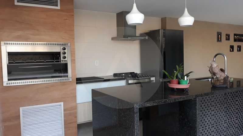 5 - Imobiliária Agatê Imóveis vende Casa Duplex de 450 m² Camboinhas - Niterói por 4.300 mil reais. - HTCA40071 - 6