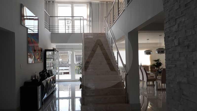 6 - Imobiliária Agatê Imóveis vende Casa Duplex de 450 m² Camboinhas - Niterói por 4.300 mil reais. - HTCA40071 - 7