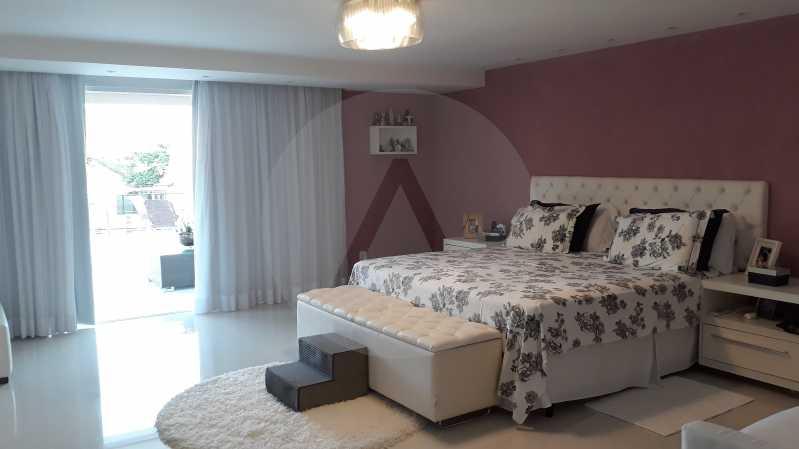 21 - Imobiliária Agatê Imóveis vende Casa Duplex de 450 m² Camboinhas - Niterói por 4.300 mil reais. - HTCA40071 - 21