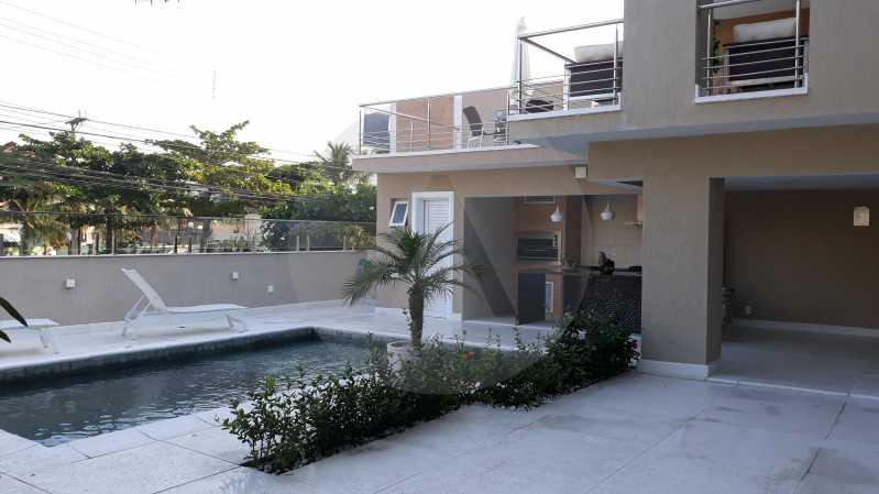 1 - Imobiliária Agatê Imóveis vende Casa Duplex de 450 m² Camboinhas - Niterói por 4.300 mil reais. - HTCA40071 - 1