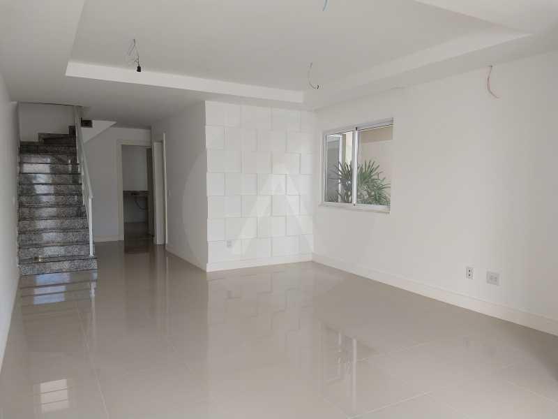 4 Casa 3 suites Piratininga - Imobiliária Agatê Imóveis vende Casa Padrão de 220m² Piratininga - Niterói por 840 mil reais. - HTCA40078 - 5