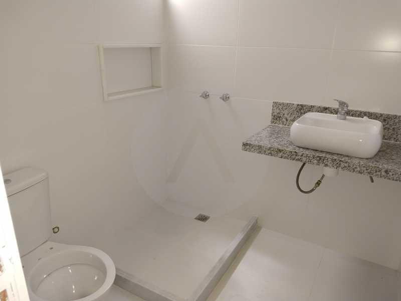9 Casa 3 suites Piratininga - Imobiliária Agatê Imóveis vende Casa Padrão de 220m² Piratininga - Niterói por 840 mil reais. - HTCA40078 - 9