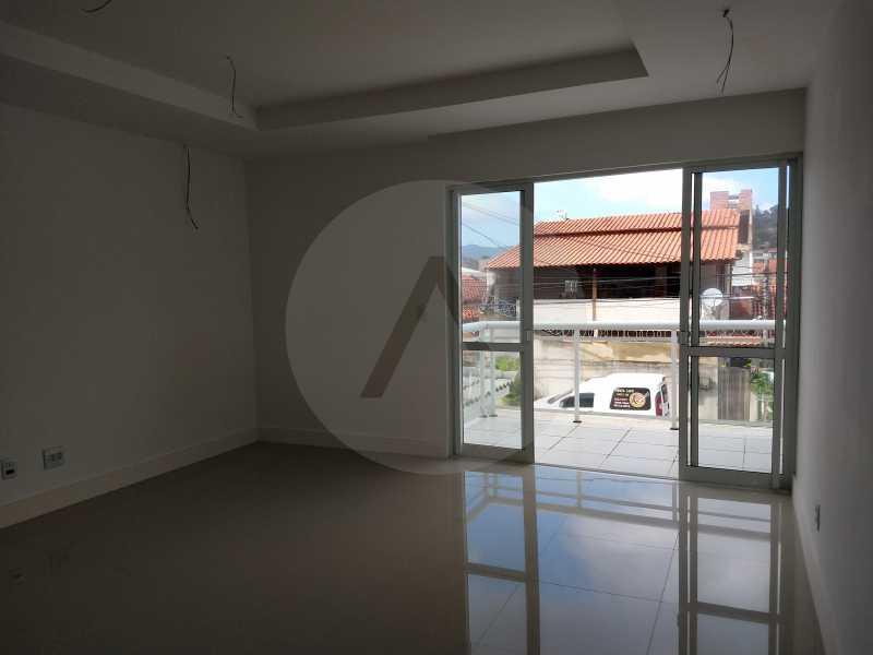 14 Casa 3 suites Piratininga - Imobiliária Agatê Imóveis vende Casa Padrão de 220m² Piratininga - Niterói por 840 mil reais. - HTCA40078 - 13