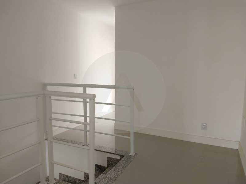 18 Casa 3 suites Piratininga - Imobiliária Agatê Imóveis vende Casa Padrão de 220m² Piratininga - Niterói por 740 mil reais. - HTCA40078 - 17