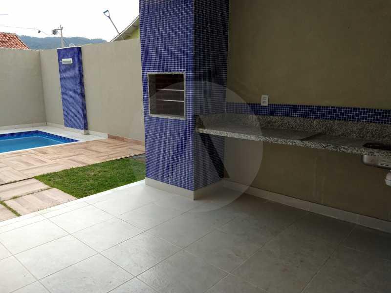 27 Casa 3 suites Piratininga - Imobiliária Agatê Imóveis vende Casa Padrão de 220m² Piratininga - Niterói por 740 mil reais. - HTCA40078 - 26