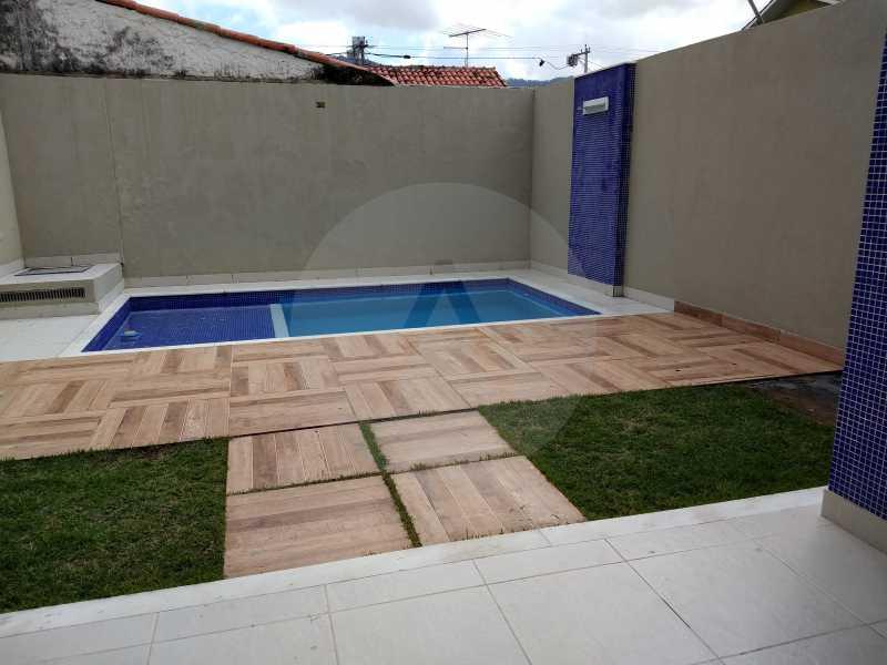 28 Casa 3 suites Piratininga - Imobiliária Agatê Imóveis vende Casa Padrão de 220m² Piratininga - Niterói por 840 mil reais. - HTCA40078 - 27