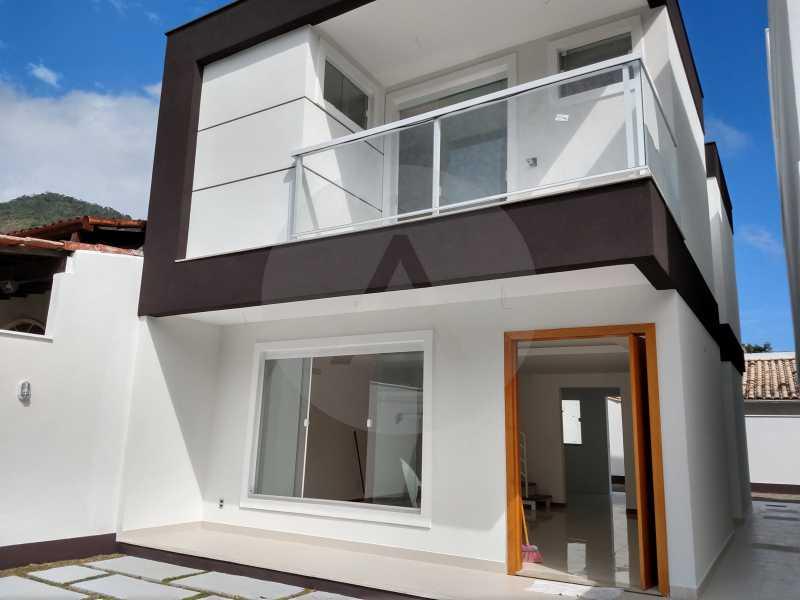 3  Casa 3 qtos Itaipu - IMOBILIÁRIA AGATÊ IMÓVEIS VENDE LINDA CASA 3 QUARTOS BAIRRO PEIXOTO ITAIPU NITERÓI. - HTCA30173 - 4