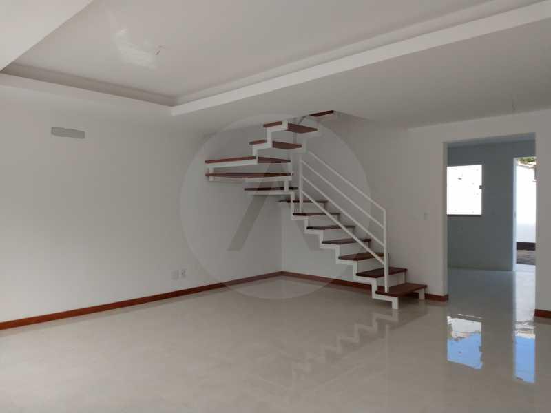 4  Casa 3 qtos Itaipu - IMOBILIÁRIA AGATÊ IMÓVEIS VENDE LINDA CASA 3 QUARTOS BAIRRO PEIXOTO ITAIPU NITERÓI. - HTCA30173 - 5