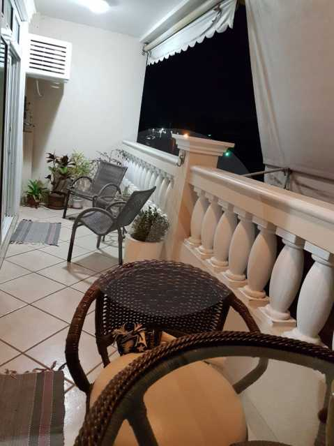 3 Apartamento Padrão Itaipu. - Imobiliária Agatê Imóveis vende Apartamento Padrão de 160m² Itaipu - Niterói por 820 mil reais. - HTAP40003 - 4