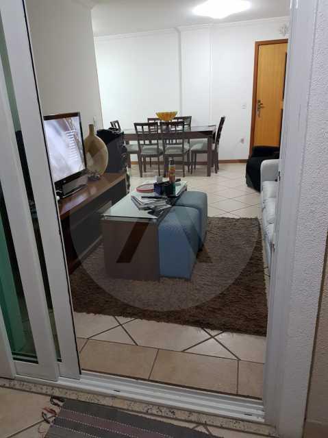 6 Apartamento Padrão Itaipu. - Imobiliária Agatê Imóveis vende Apartamento Padrão de 160m² Itaipu - Niterói por 820 mil reais. - HTAP40003 - 7