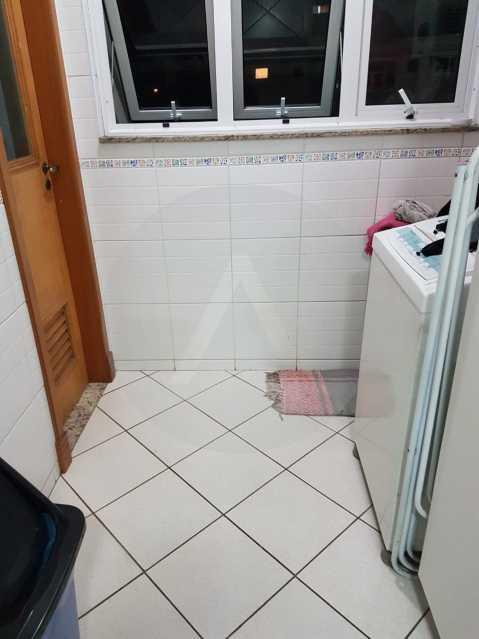 11 Apartamento Padrão Itaipu. - Imobiliária Agatê Imóveis vende Apartamento Padrão de 160m² Itaipu - Niterói por 820 mil reais. - HTAP40003 - 12