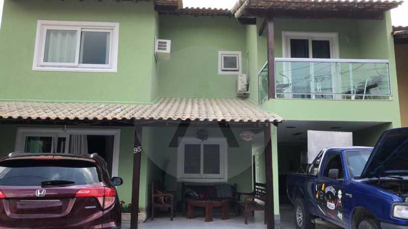 1 Casa em Condomínio Varzea d - Imobiliária Agatê Imóveis vende Casa em Condomínio de 200m² Várzea das Moças - Niterói por 990 mil reais. - HTCN40052 - 3