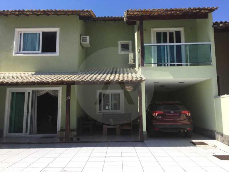 2 Casa em Condomínio Varzea d - Imobiliária Agatê Imóveis vende Casa em Condomínio de 200m² Várzea das Moças - Niterói por 990 mil reais. - HTCN40052 - 4