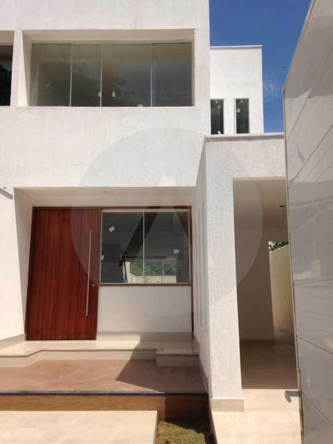 1 Casa Itaipu Maravista - Imobiliária Agatê Imóveis vende Casa de 168 m² Itaipu - Niterói por 600 mil reais. - HTCA30024 - 1