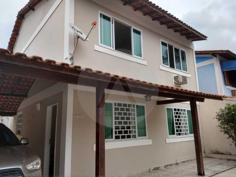 1 Casa Padrão Itaipu. - Imobiliária Agatê Imóveis vende Casa Padrão de 220m² Itaipu - Niterói por 700 mil reais. - HTCA30182 - 1