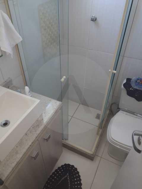 8 Casa em Condomínio Itaipu - Imobiliária Agatê Imóveis vende Casa em Condomínio de 95m² Itaipu - Niterói. - HTCN20027 - 9
