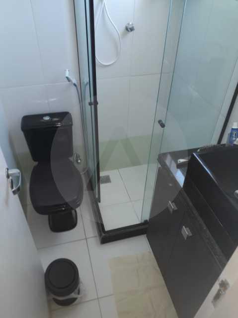 11 Casa em Condomínio Itaipu - Imobiliária Agatê Imóveis vende Casa em Condomínio de 95m² Itaipu - Niterói. - HTCN20027 - 12