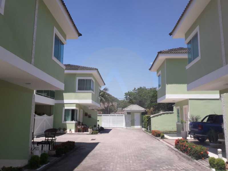 1 Casa em Condomínio Itaipu - Imobiliária Agatê Imóveis vende Casa em Condomínio de 95m² Itaipu - Niterói. - HTCN20027 - 1