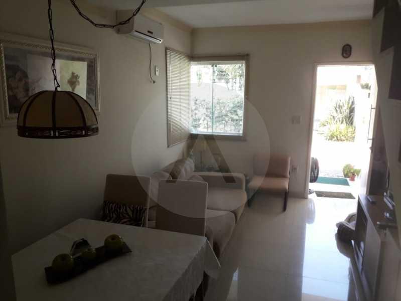 3 Casa em Condomínio Itaipu - Imobiliária Agatê Imóveis vende Casa em Condomínio de 95m² Itaipu - Niterói. - HTCN20027 - 4