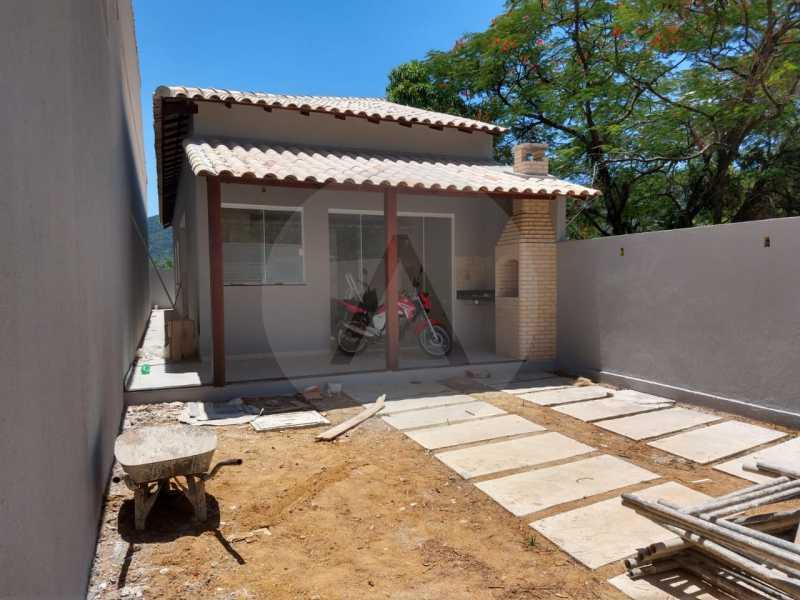 2 Casa Padrão Linear Itaipu. - Imobiliária Agatê Imóveis vende Casa Padrão de 120 m² Itaipu - Niterói por 410 mil reais. - HTCA30188 - 3