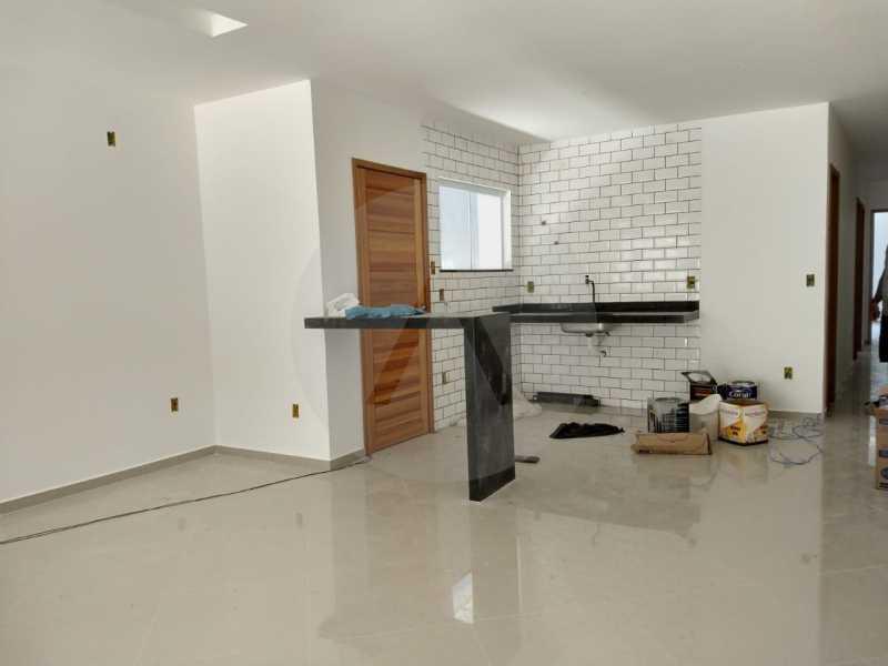 3 Casa Padrão Linear Itaipu. - Imobiliária Agatê Imóveis vende Casa Padrão de 120 m² Itaipu - Niterói por 410 mil reais. - HTCA30188 - 4